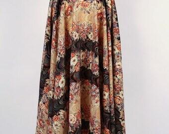 Vintage 70s floral skirt