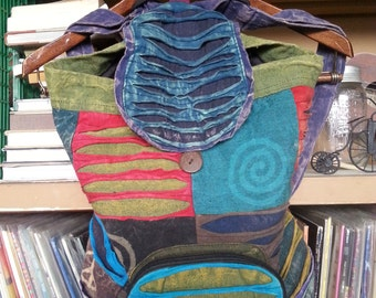Patchwork Backpack