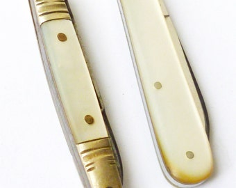 Vintage Mother of Pearl Penknives