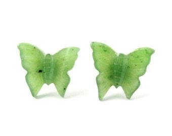 Earrings, Butterfly