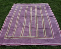 Vintage Kantha Quilt/ Bedspread, Wall Hanging, Ethnic Home Decor (UK FREESHIPPING) NN002-65