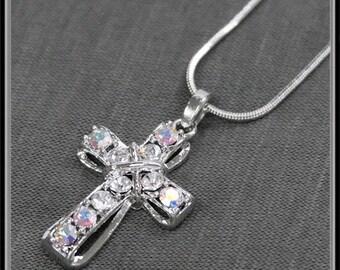 Tiny Sparkle Cross