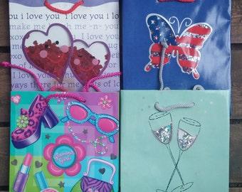 Shaker Gift Bag Asst. 6 High Quality Gift Bags