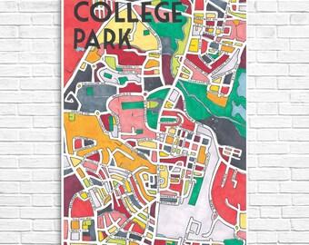 College Park Neighborhood Map