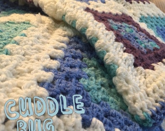 Cuddle Bug Crochet Baby Blanket