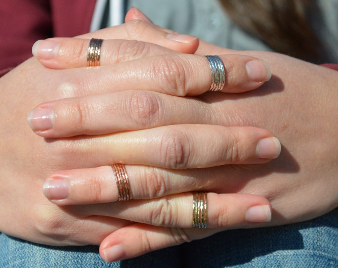 Sterling Silver MIDI Ring(s), Silver Knuckle Rings, Silver Stacking Rings, Sterling Midi Ring, Silver Midi Rings, Midi Rings, Stacking Rings