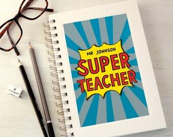Personalised Super Teacher Notebook