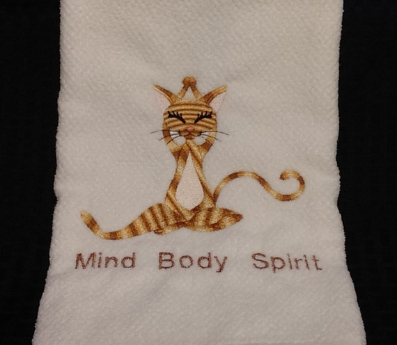Personalized Spirit Towels: Hand Towels Sport Towels Personalized Yoga Towels