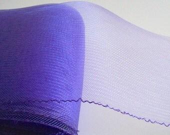 """Crin purple 6"""" Crin (crinoline horsehair braid) 6 inch (15cm)"""