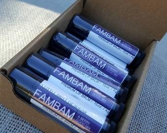 FAMBAM by A Little Britt of Sugar premium lip balm