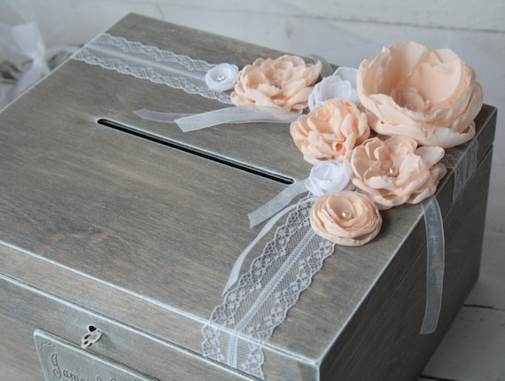 Wedding Gift Card Box Uk : ... Card Box - Rustic Weddings - Advice Box - Card Box - Wedding Gift