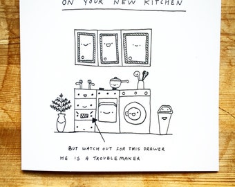 Congratulations on... your new kitchen!