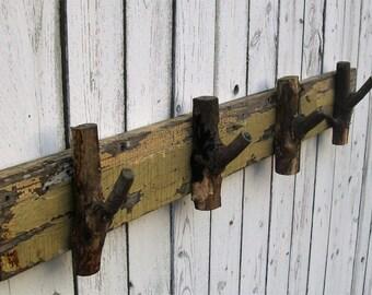 Unique coat rack, weathered wood coat rack, coat rack, weathered wood, drift wood, rustic coat rack, rustic, wood coat rack, coat hanger
