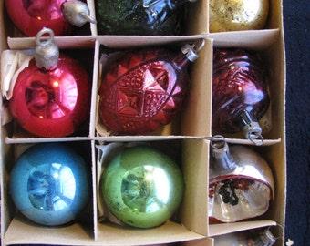 12 Antique Christmas Ornaments #4