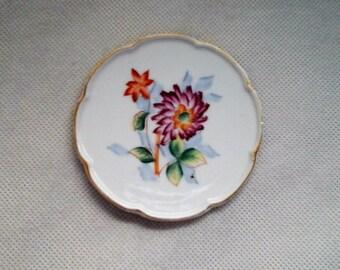Occupied Japan porcelain coaster