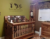 ULTIMATE HUNTER™ Custom Baby Bedding and Nursery Sets - hunting baby bedding, camo baby bedding, deer baby bedding, design your own