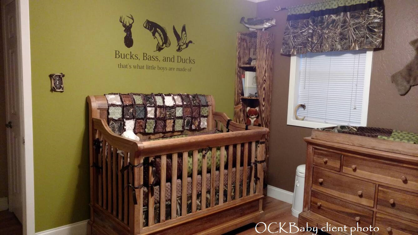 Ultimate Hunter Custom Baby Bedding And Nursery Sets