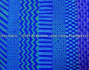 Blue Stripe KG822026-B by Keiko Goke Half yard