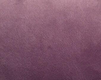 Light Lavender Velvet - Upholstery Fabric by  Yard
