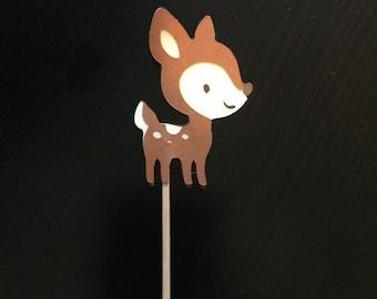 Deer Cupcake Picks