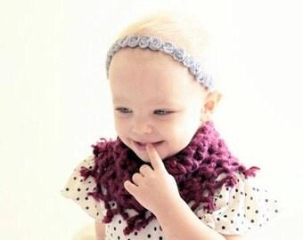 Baby Halo Headband, Newborn Headband, Newborn Photo Prop, 1st Birthday, Baby Shower Gift, Flower Girl, Wedding, Baptism