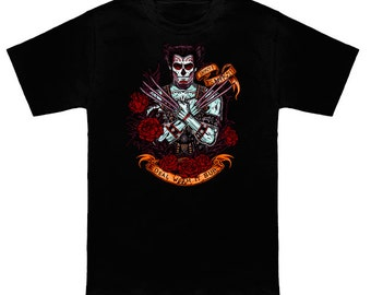 Day of the Dead- Oversized Heavyweight Tshirt
