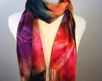 Multi-Color Batik Scarf