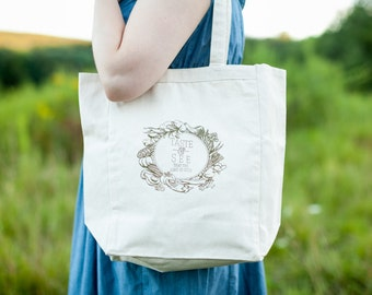 Taste and See Tote Bag