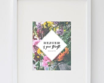 The Joy of the Lord Print