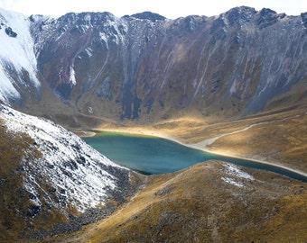 Nevado de Toluca Lake, Landcape, Mountains, Volcano