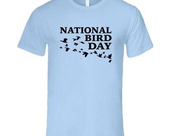National Bird Day Fun Celebration T Shirt
