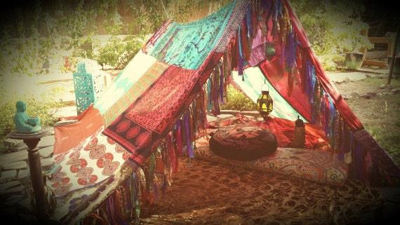 Like this item? & Meditation tent teepee Bohemian Boho Canopy hippy scarves