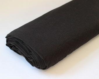 Organic Bamboo/Cotton Jersey - Black