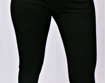leggings black woman no stress lace
