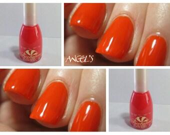 Long-lasting nail polish PASTEL ORANGE
