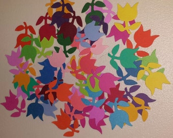 PP2 - Colorful Flower Paper Punches! 50 Multicolored included!