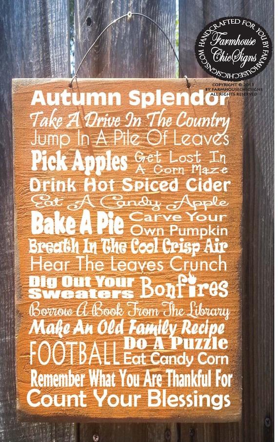 fall decor, Autumn Sign, Fall Sign, Thanksgiving decor, autumn decor, thanksgiving sign, holiday sign, fall sign, 36