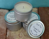 Small Tin Soy Candle