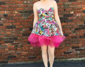 Sugar Skull Party Dress