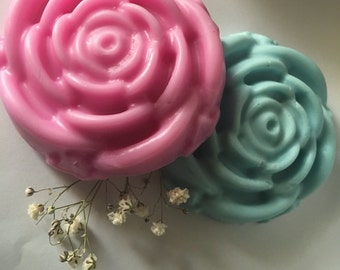 Decorative soap flowers