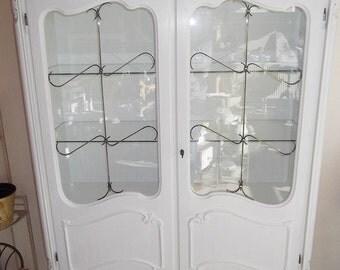 Old display case Cabinet around 1930 shabby vintage