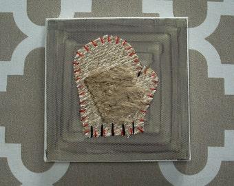 Tiny Mitten #5 Fabric Wall Art