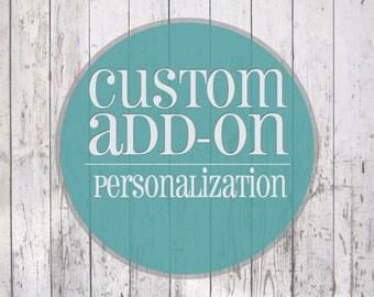 Custom Cover Add On