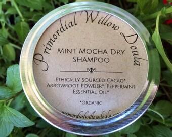 Herbal Dry Shampoo - Mint Mocha - Dark Hair