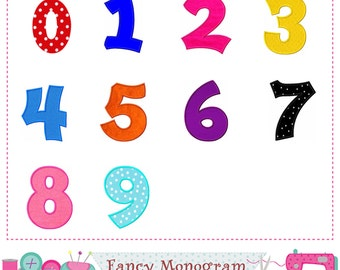 Numbers applique,Plain Numbers embroidery,Numbers design,Numbers applique,Numbers embroidery,Birthday numbers applique.-1757