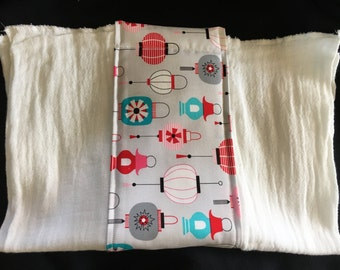 Lanterns Burp Cloth