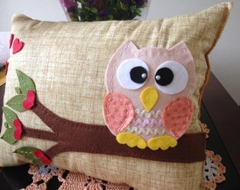 Love Owl Pillow/Cushion Owlet of love