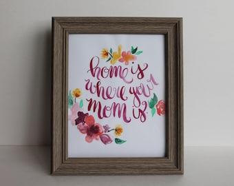 Mom/Mother's Day Illustration - Digital File