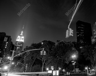 Black and White, New York City Photography, Empire St Building, Fine Art Photography, NYC Pictures, Midtown Manhattan