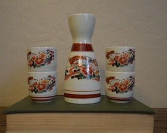 Garden Sake Set